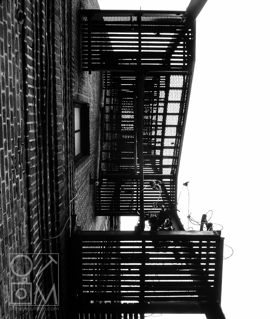 Philly - Spring Garden - Fire Escape