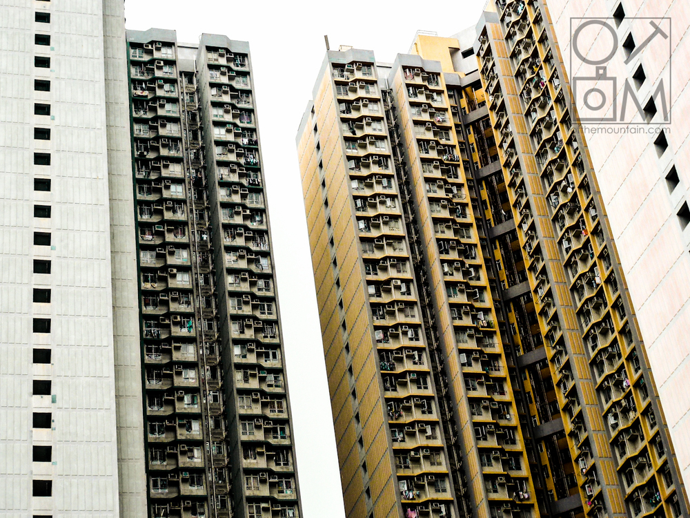 Hong Kong - Kowloon - Yellow Apts