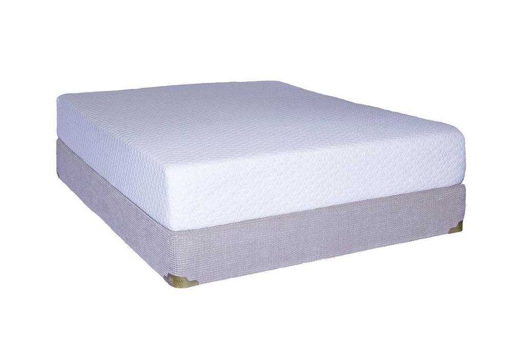 The Jordan Serene Mattress features the latest foam technology.