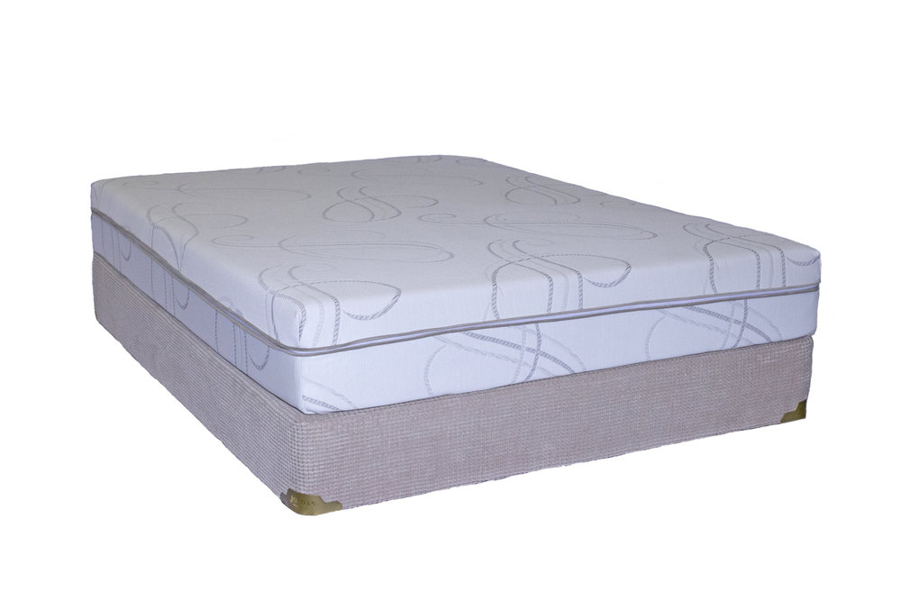"Jordan Gel Memory Foam Mattress (10"")"