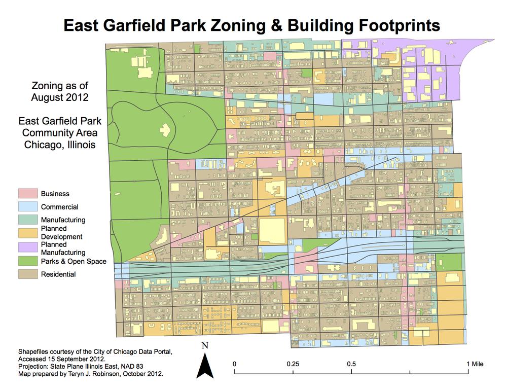 Garfield Park Chicago Map.542housingproject Teryn J Robinson Portfolio