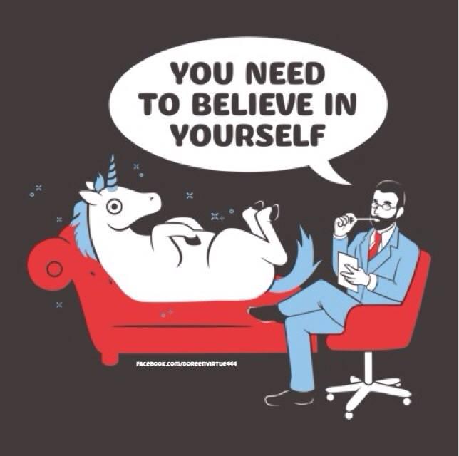 """""""Tienes que creer en ti mismo"""""""