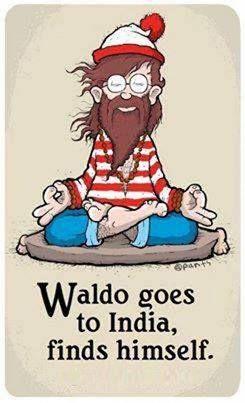 Wally se va a la India y se encuentra a sí mismo.