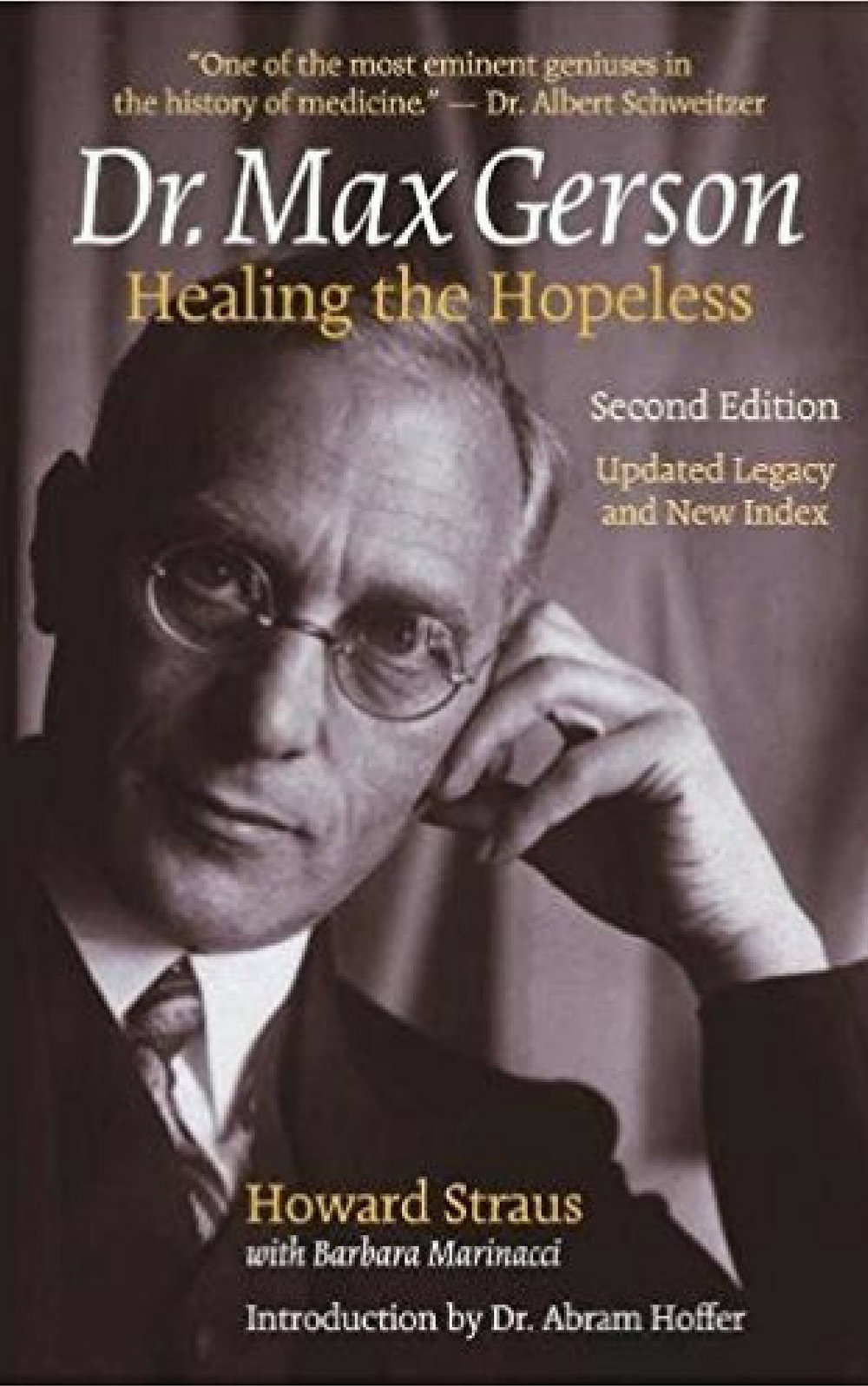 Dr. Max Gerson - Healing the Hopeless