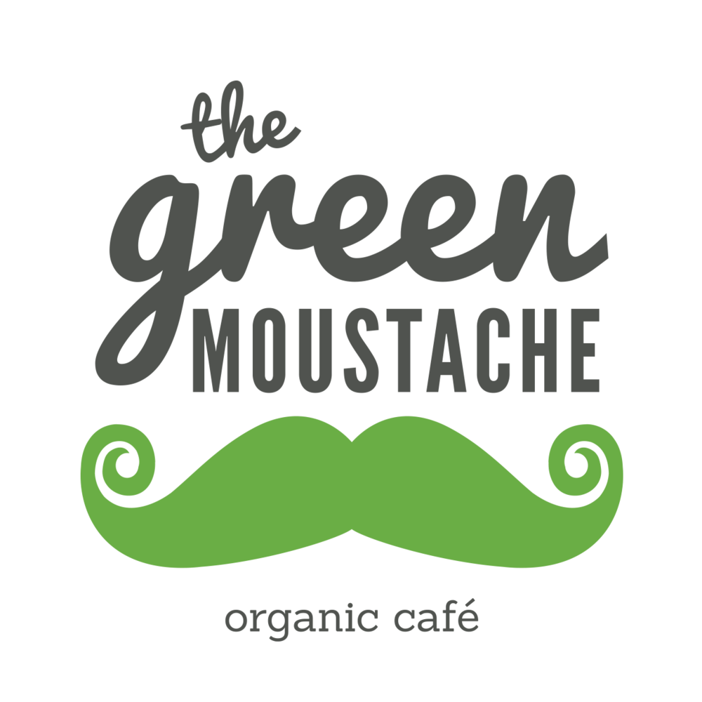 Sharing - good, nutritious, plant-rich foods sourced as locally as possible. The Green Moustache Café only serves 100% organic meals, made in house from scratch and with love.And ... you can taste that!