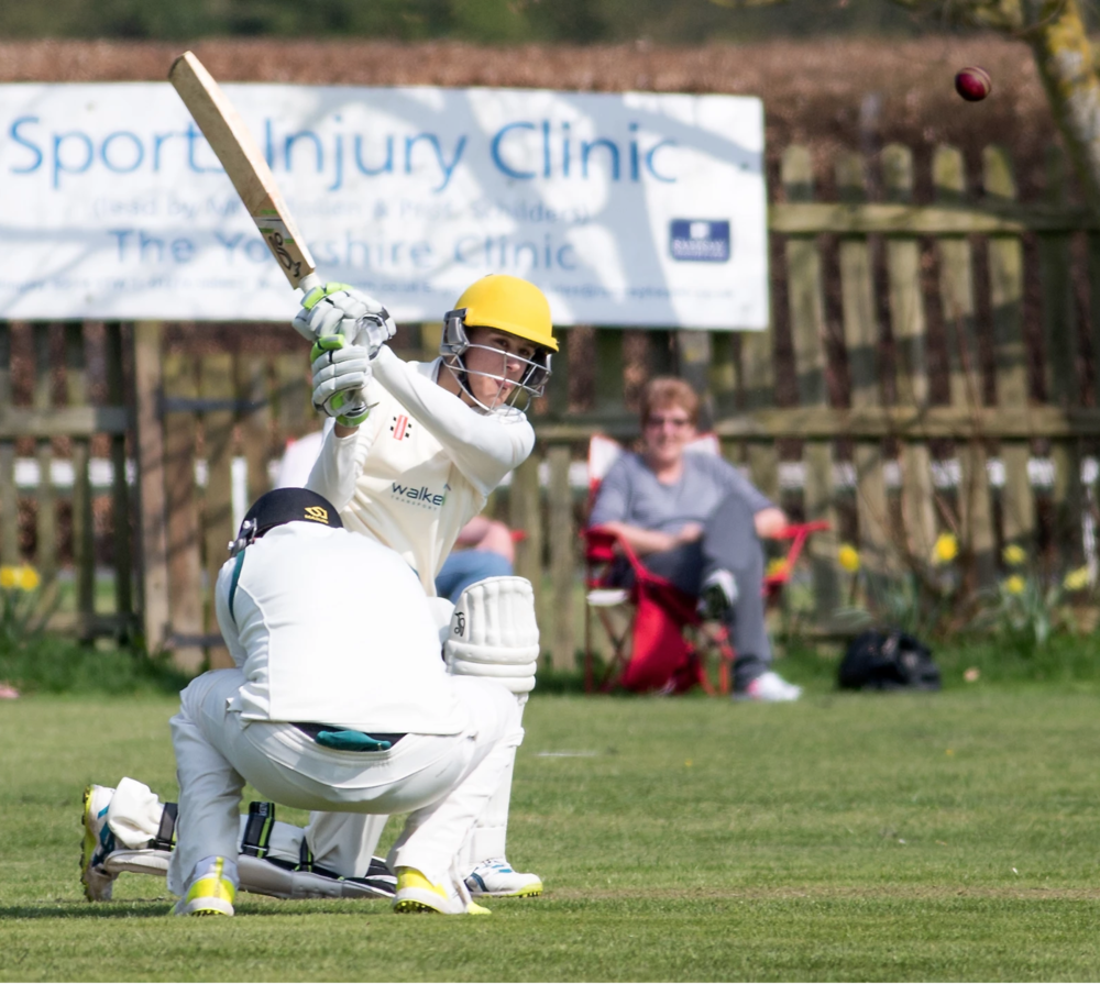 Forster confidently sweeps Otley's Billy Hyde in the season's opening fixture.