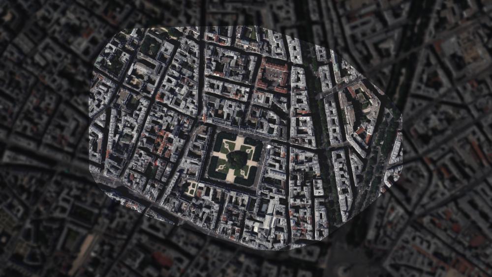 Place des Vosges, Paris, France - Paris' oldest planned public square, and one of its most successful urban parks.
