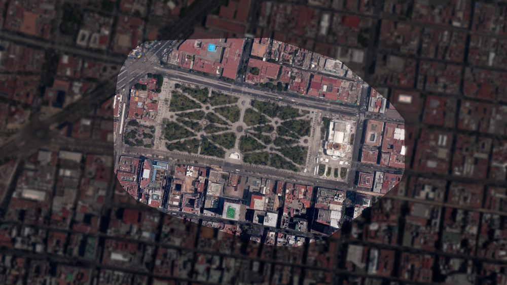 Palacio de Bellas Artes and Alameda Central, Mexico City, Mexico - A prominent cultural center in Mexico City, and the city's oldest public park.