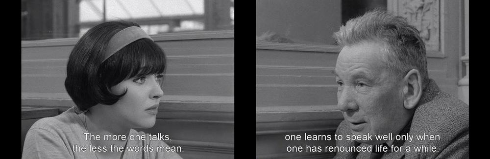 Vivre Sa Vie , 1962 Jean-Luc Godard.