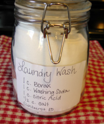 DIY Laundry Detergent by Annie's Place To Learn