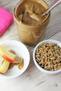 Homemade Sunflower Seed Butter by Tessa the Domestic Diva