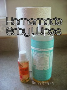Homemade Baby Wipes by Raia's Recipes