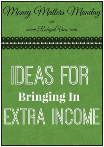 Ideas for Extra Income by Robyn's View