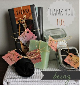 Thank You For Being Gift Basket from Eat Play Love…More