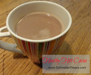 Healthy Hot Cocoa Recipe from Schneider Pepps