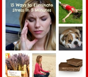 15 Ways to Eliminate Stress in 5 Minutes or Less by 5 Minutes or Less