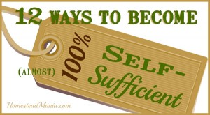 12 Ways to Become More Self Sufficient by Homestead Mania