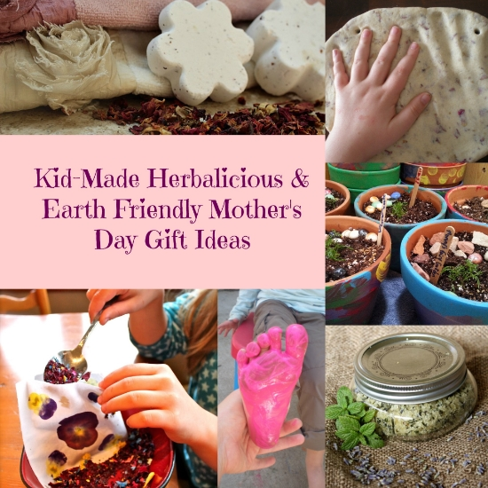 Kid made herbalicious earth friendly mother 39 s day gift for Mother s day gift ideas for grandma