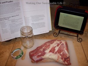 Canning Beef and Recipes by Making Our Sustainable Life