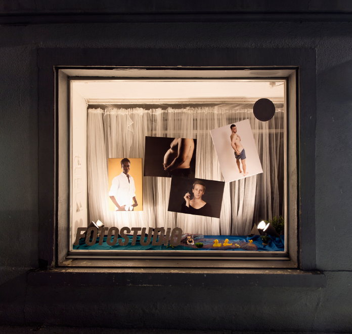 The Photostudio (Mühletorplatz), 2017, Photography, Diasec, 100×100cm
