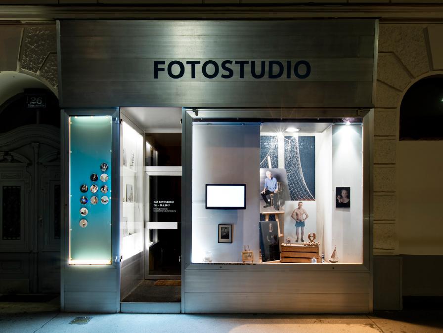 The Photostudio (Jägerstaße 26), 2017, Photography, Diasec, 100×133cm