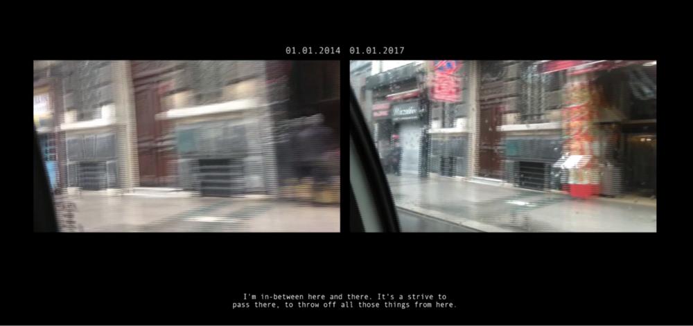HEM İLERİ HEM GERİ - << Video installation, 2017>> More Information