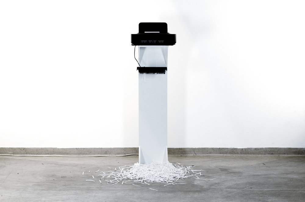 your unerasable text - << Interactive Installation, 2011/2012>> More Information