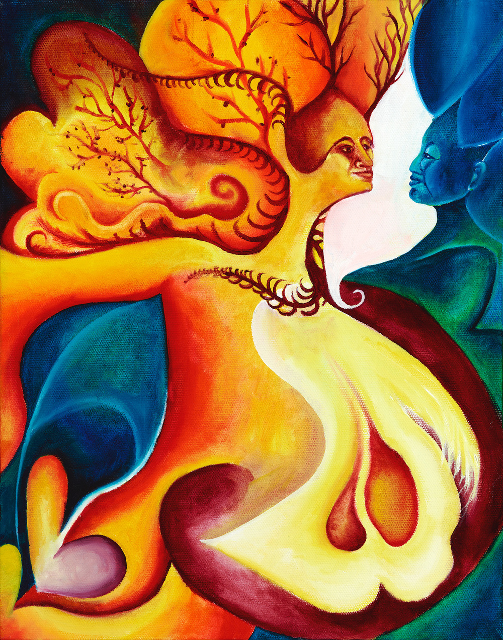 "Oil on canvas. 14"" x 11""  2012   Purchase prints here."