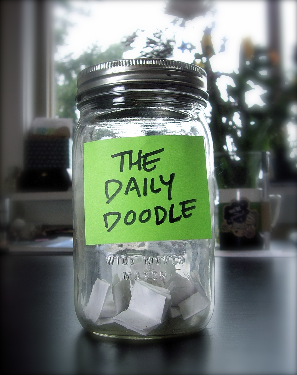 The Daily Doodle Lottery Jar