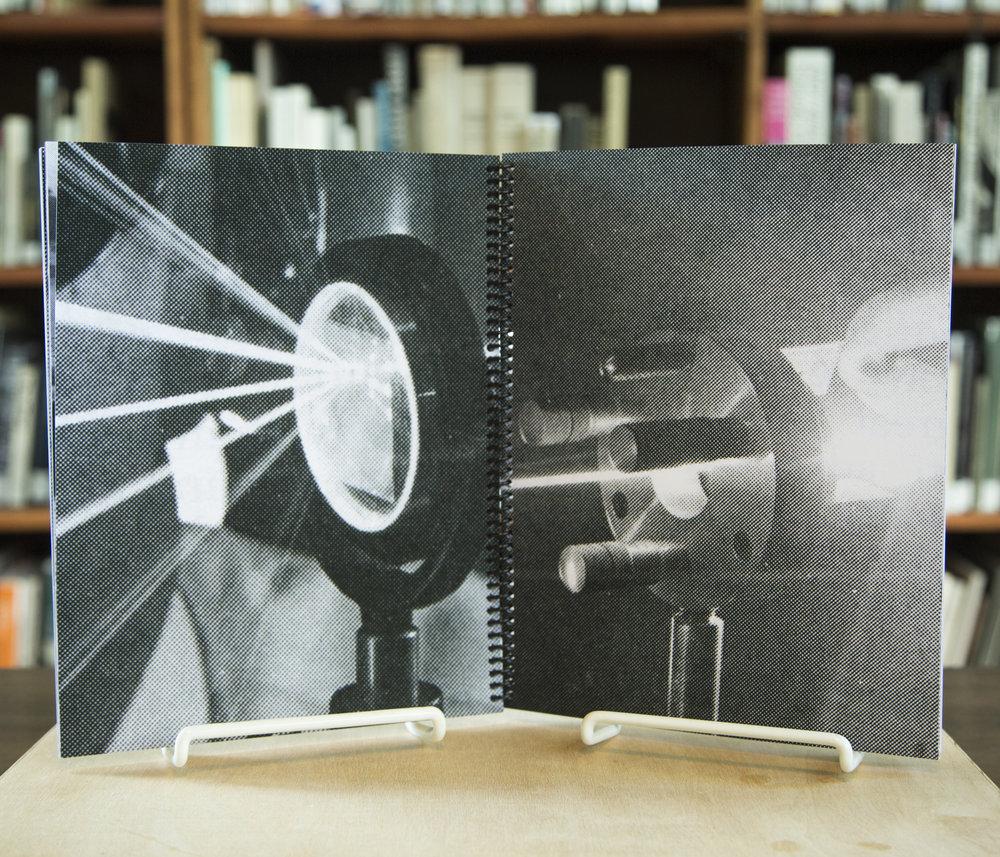 Detail from artist book