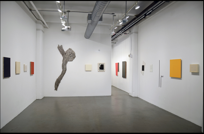Installation view of Julian Pretto Gallery at Minus Space, courtesy of Minus Space