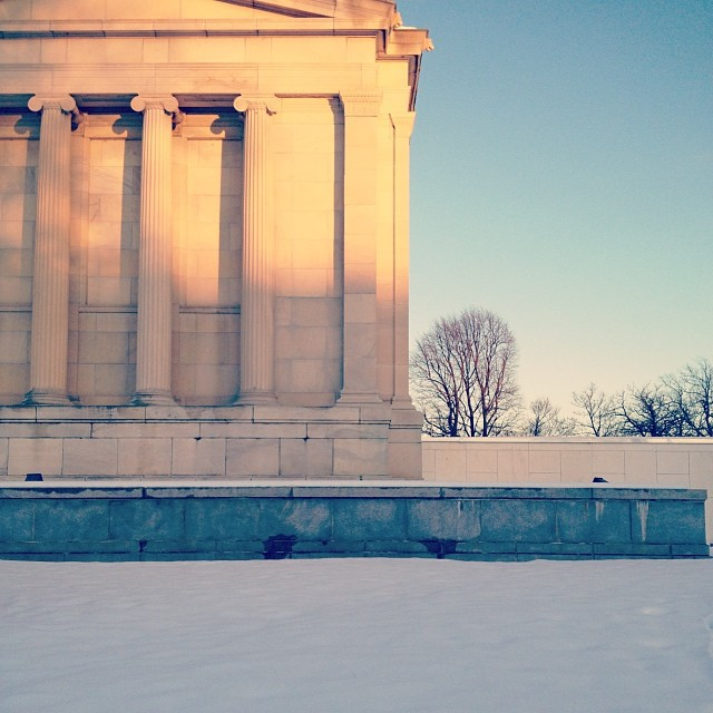 Andrea visited the Albright Knox Gallery in Buffalo, NY over the Thanksgiving weekend and took this peaceful shot.