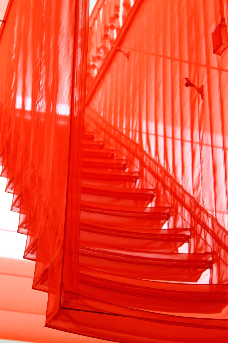 """The space I'm interested in is not only a physical one, but an intangible, metaphorical, and psychological one""-Do Ho Suh (Staircase III @ Tate Modern)"