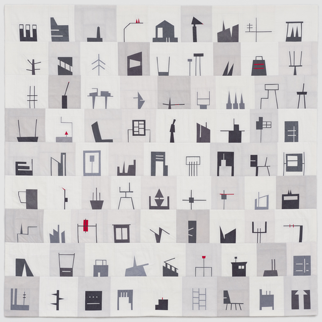 "Erin Wilson, Shape Study #11, 48"" x 48"", 2013"