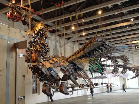 Xu Bing's Phoenix, Photo: Marion Kahan
