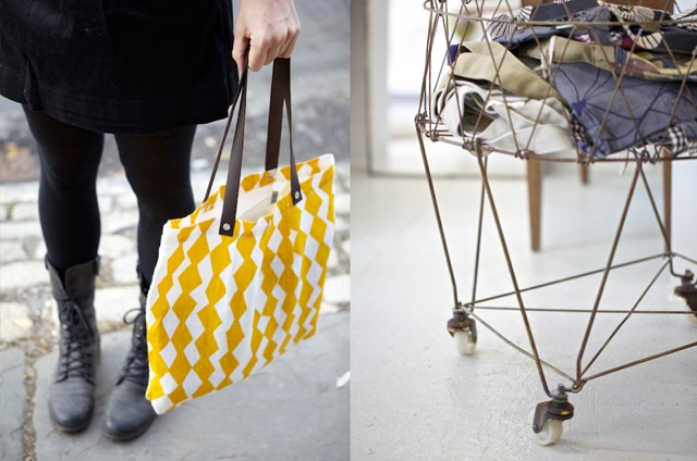 (Bags by Lotta Jansdotter)