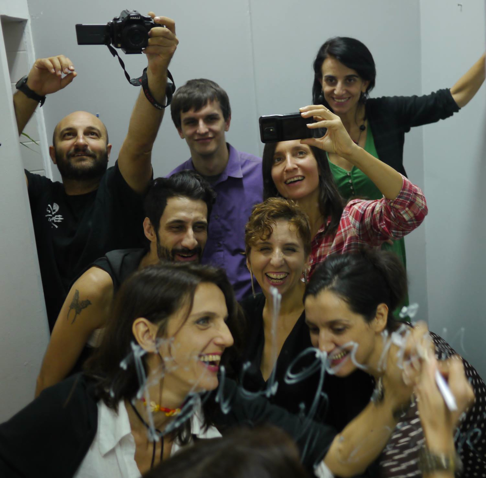 Members of the Bulgarian Collaborative:  Daniela Kostova ,   Mario Mohan  ,    Joro-Boro ,    Nina and Georgu Tushev (Tushev Aerials) ,   Vlada Tomova ,   Milena Deleva ,    Meglena Zapreva