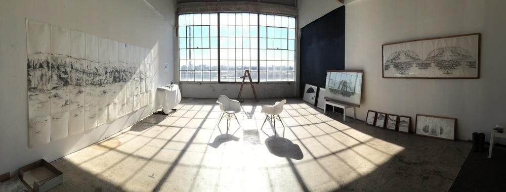 Afton's studio