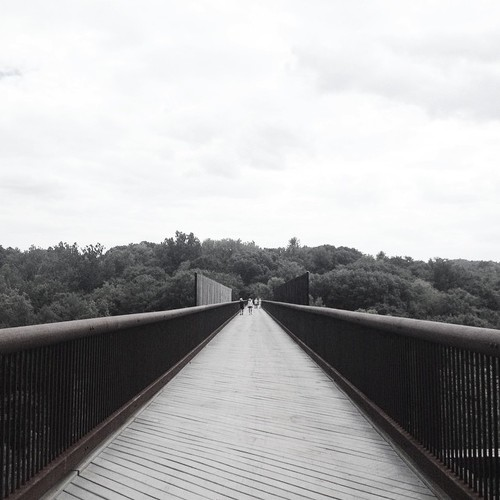 The Rosendale Trestle, a view from Upstate New York