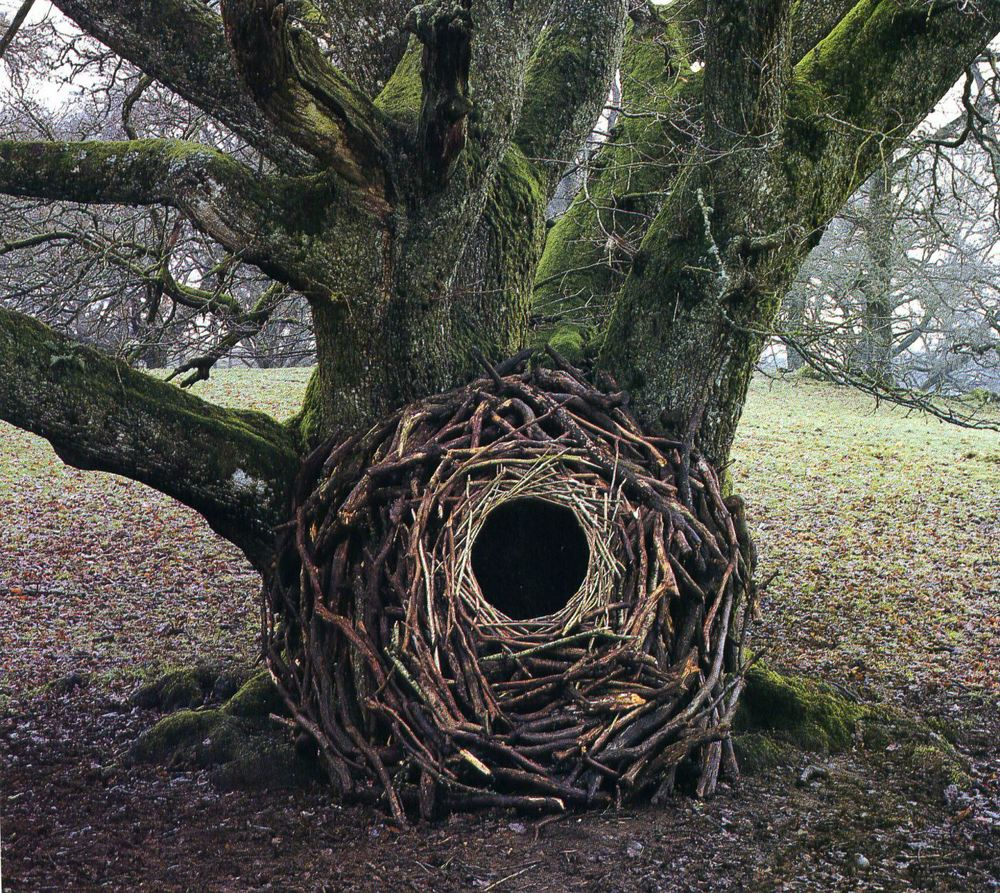 A piece by Andy Goldsworthy, Via Elilah Creative Space Blog