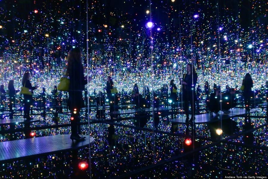 Yayoi Kusama's  Infinity Room  from  Designcollector.net