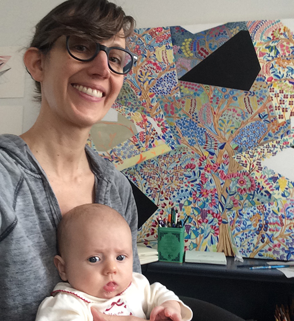 Sara & baby Isabel