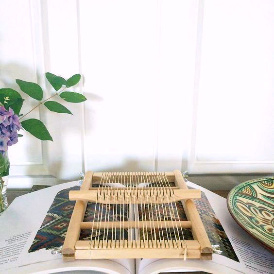 Abigail's tabletop loom