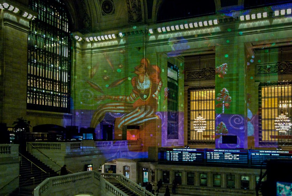 Grand Central Christmas Lights