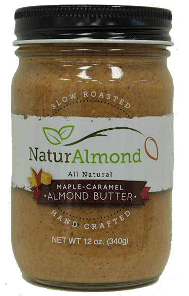 Maple Caramel almond butter (no sugar added)