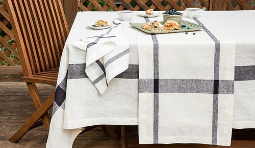 table linens — fine linens | furnishings | ethical. eco-friendly