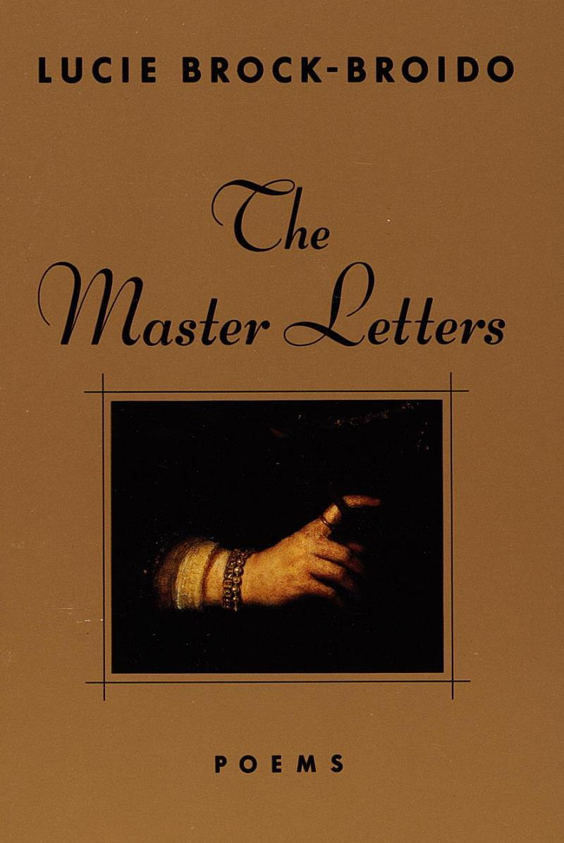 The master letters lucie brock broido jacket design by martha simpson fandeluxe Epub