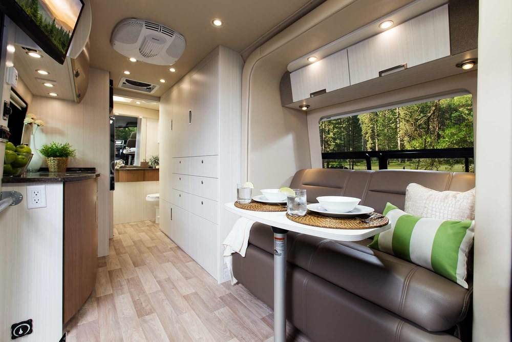 Spacious, stylish, inviting...the BlissRV Mercedes experience.