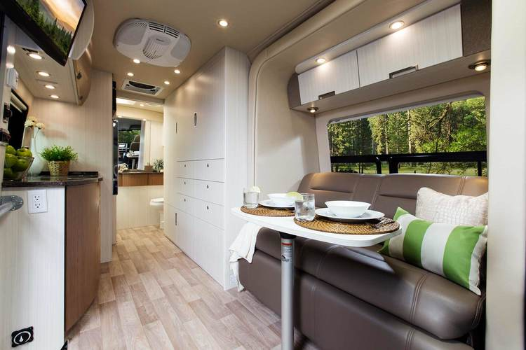 Spacious Stylish Invitingthe BlissRV Mercedes Experience