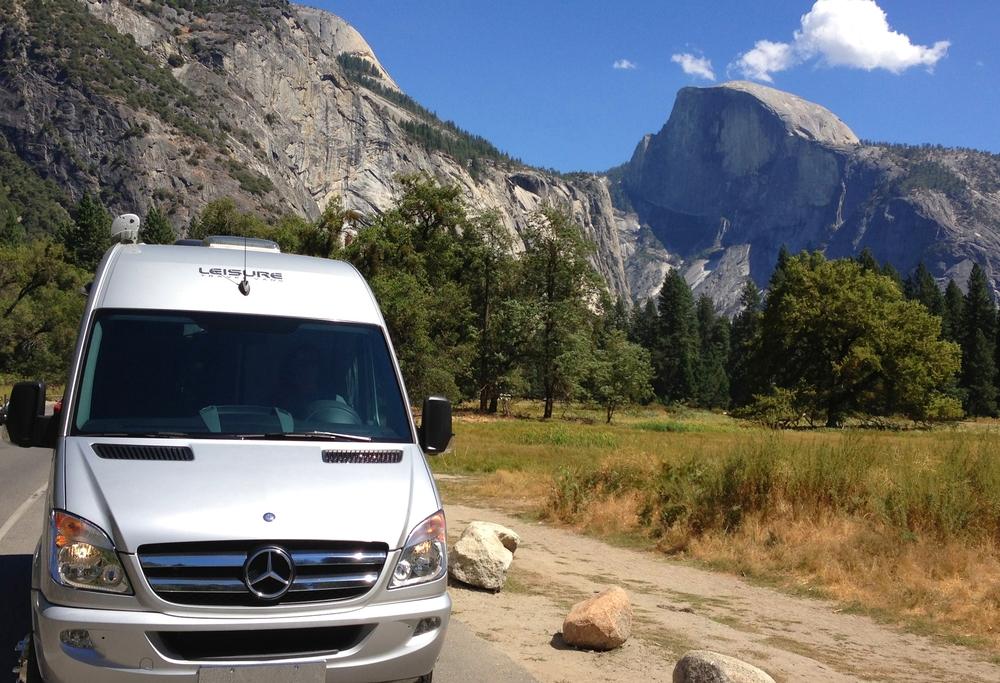 BlissRV's Mercedes in Yosemite Valley